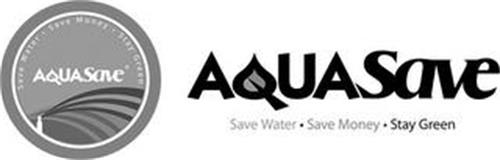 AQUASAVE SAVE WATER SAVE MONEY STAY GREEN