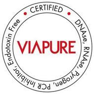 VIAPURE CERTIFIED DNASE, RNASE, PYROGEN, PCR INHIBITOR, ENDOTOXIN FREE