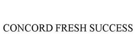 CONCORD FRESH SUCCESS
