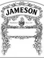 JAMESON ESTABLISHED SINCE 1780