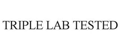 TRIPLE LAB TESTED