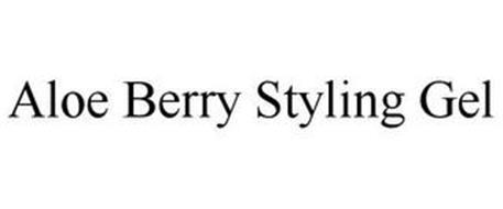 ALOE BERRY STYLING GEL