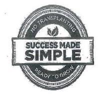 SUCCESS MADE SIMPLE NO TRANSPLANTING READY TO GROW