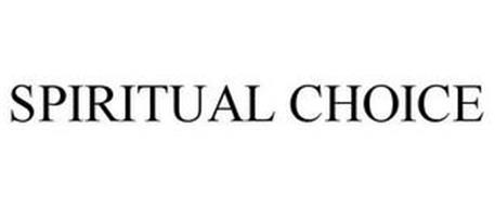 SPIRITUAL CHOICE