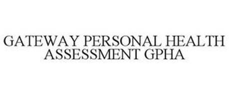 GATEWAY PERSONAL HEALTH ASSESSMENT GPHA