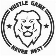 HUSTLE GAME NEVER REST