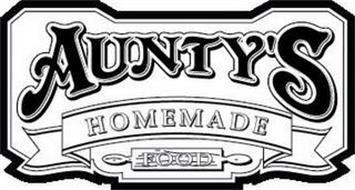 AUNTY'S HOMEMADE FOOD