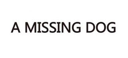 A MISSING DOG