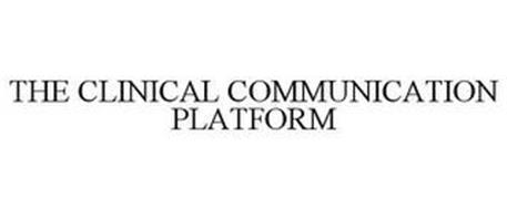 THE CLINICAL COMMUNICATION PLATFORM