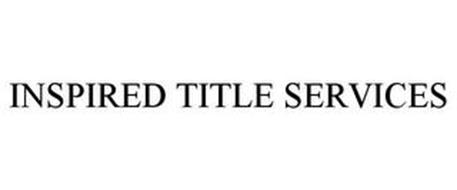 INSPIRED TITLE SERVICES