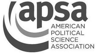 APSA AMERICAN POLITICAL SCIENCE ASSOCIATION