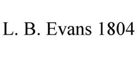 L. B. EVANS 1804