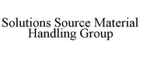 SOLUTIONS SOURCE MATERIAL HANDLING GROUP