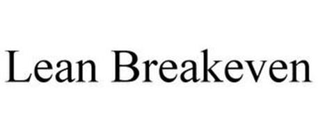 LEAN BREAKEVEN