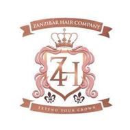 ZANZIBAR HAIR COMPANY EXTEND YOUR CROWN ZH
