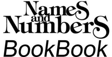 NAMES AND NUMBERS BOOKBOOK