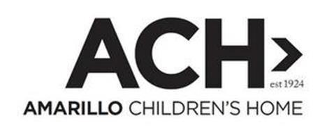ACH> EST 1924 AMARILLO CHILDREN'S HOME