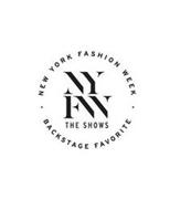NYFW THE SHOWS NEW YORK FASHION WEEK BACKSTAGE FAVORITE