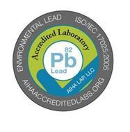 ENVIRONMENTAL LEAD ISO/IEC 17025:2005 AIHAACCREDITEDLABS.ORG ACCREDITED LABORATORY 82 PB LEAD AIHA LAP, LLC