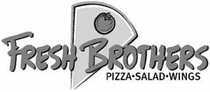 FRESH BROTHERS PIZZA · SALAD · WINGS