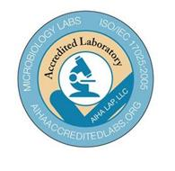 MICROBIOLOGY LABS ISO/IEC 17025:2005 AIHAACCREDITEDLABS.ORG ACCREDITED LABORATORY AIHA LAP, LLC