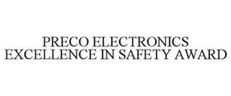 PRECO ELECTRONICS EXCELLENCE IN SAFETY AWARD