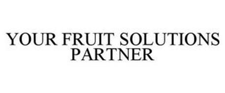 YOUR FRUIT SOLUTIONS PARTNER