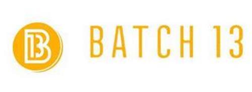 B 13 BATCH 13