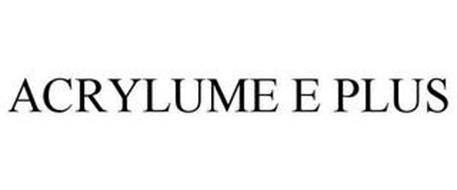 ACRYLUME E PLUS
