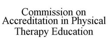 COMMISSION ON ACCREDITATION IN PHYSICALTHERAPY EDUCATION