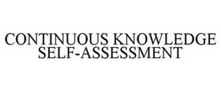 CONTINUOUS KNOWLEDGE SELF-ASSESSMENT