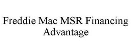 FREDDIE MAC MSR FINANCING ADVANTAGE