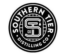 SOUTHERN TIER · DISTILLING CO · ST CO