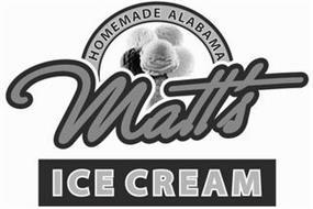 MATT'S HOMEMADE ALABAMA ICE CREAM
