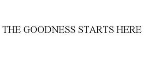 THE GOODNESS STARTS HERE