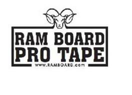 RAM BOARD PRO TAPE WWW.RAMBOARD.COM