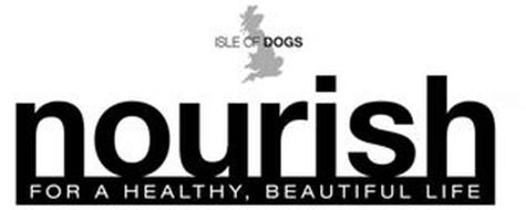 ISLE OF DOGS NOURISH FOR A HEALTHY, BEAUTIFUL LIFE