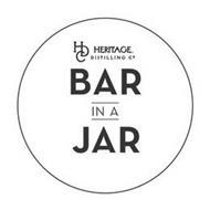 HDC HERITAGE DISTILLING CO. BAR IN A JAR