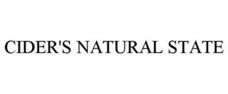CIDER'S NATURAL STATE