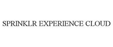SPRINKLR EXPERIENCE CLOUD