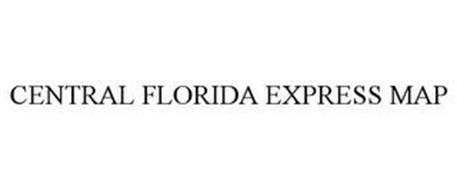 CENTRAL FLORIDA EXPRESS MAP