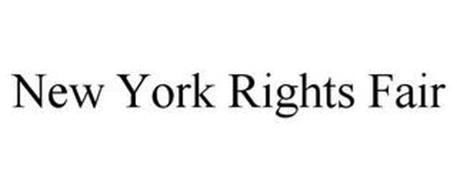 NEW YORK RIGHTS FAIR