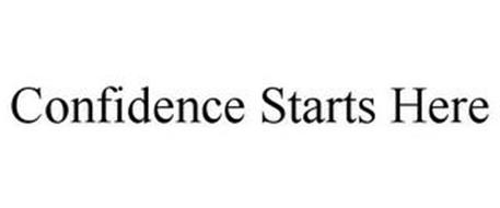 CONFIDENCE STARTS HERE