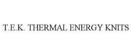 T.E.K. THERMAL ENERGY KNITS