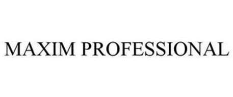 MAXIM PROFESSIONAL