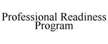 PROFESSIONAL READINESS PROGRAM