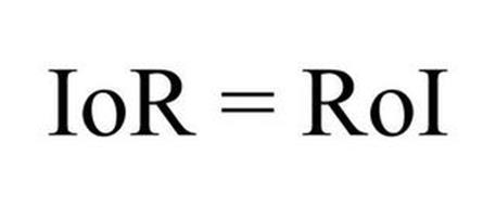 IOR = ROI