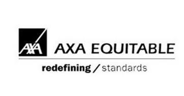 AXA AXA EQUITABLE REDEFINING / STANDARDS