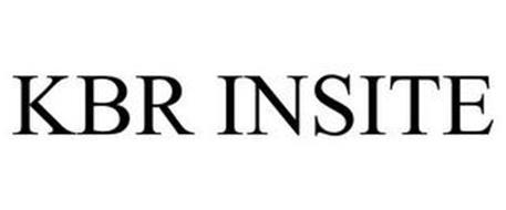 KBR INSITE