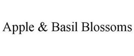 APPLE & BASIL BLOSSOMS